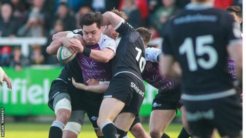 Newcastle v Cornish Pirates