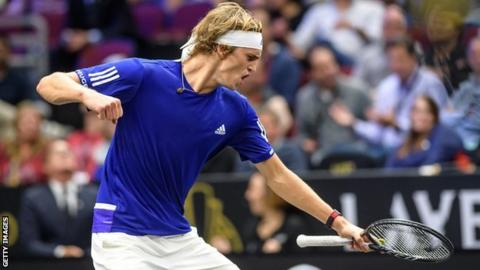 Team Europe outclass Team World 13-8 to retain Laver Cup