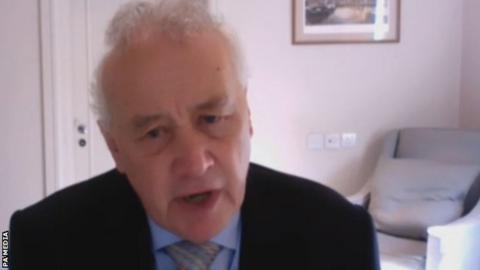 EFL chairman Rick Parry