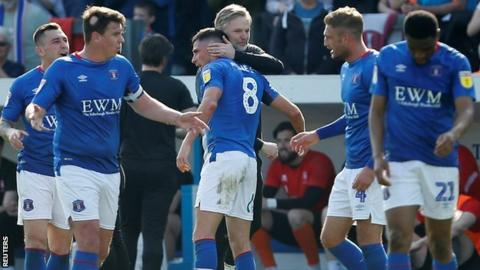 Mike Jones hit the second-half winner for Steven Pressley's Carlisle in their late season win over League Two champions Lincoln City