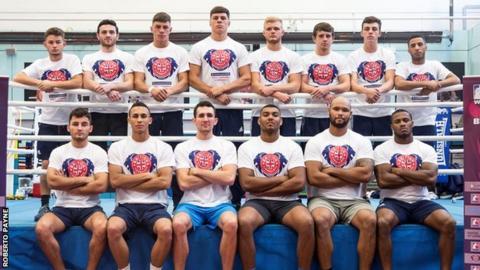 British Lionhearts squad