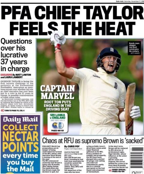 Mail back page