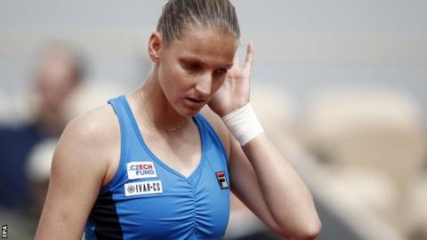 Second-seeded Pliskova ousted at French Open