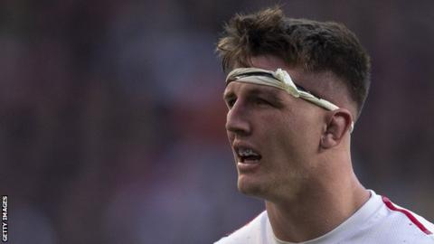 Tom Curry became England's youngest debutant since Jonny Wilkinson after winning his first cap in 2016