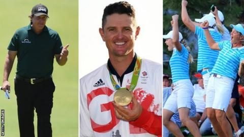 Medinah, Woods & Olympic gold - 10 highlights of the golfing decade
