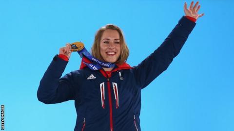 British skeleton athlete Lizzy Yarnold