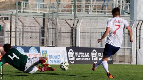 Adam Armstrong helps England to Toulon tournament hat-trick