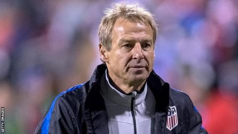 Jurgen Klinsmann named Hertha Berlin boss until end of season