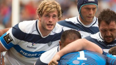 Richie Gray played his last match for Castres on Sunday