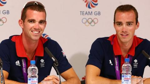 L-R: Richard Chambers and Peter Chambers