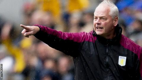 Aston Villa under-23s coach Kevin MacDonald