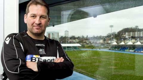 Glasgow Warriors assistant Kenny Murray