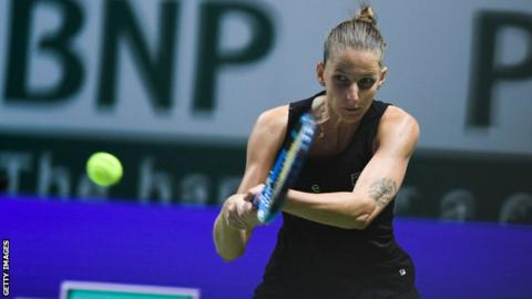 Pliskova hits semi-finals with straight-set win over Kvitova