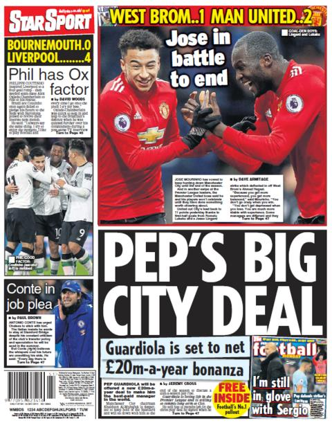 Daily Star on Monday