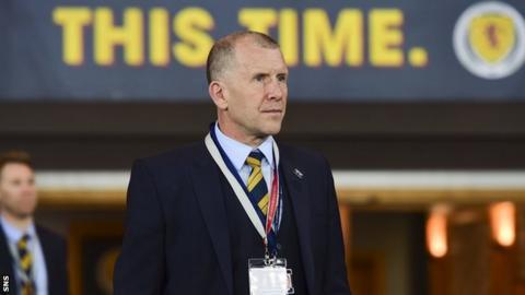 Former Spireites boss Caldwell applies for Scotland job