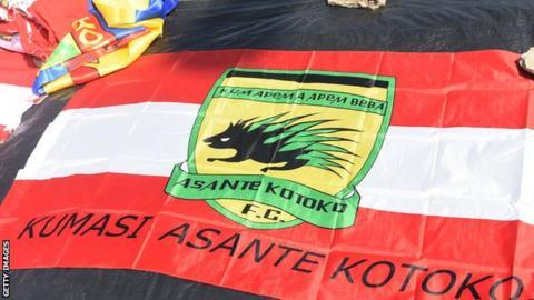 Asante Kotoko flag