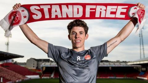 Aberdeen midfielder Ryan Christie
