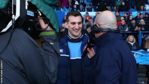 Flanker Sam Warburton has not played this season for Cardiff Blues