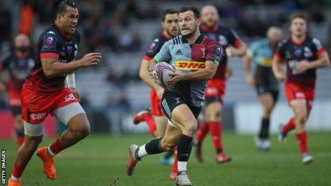 Danny Care playing for Harlequins