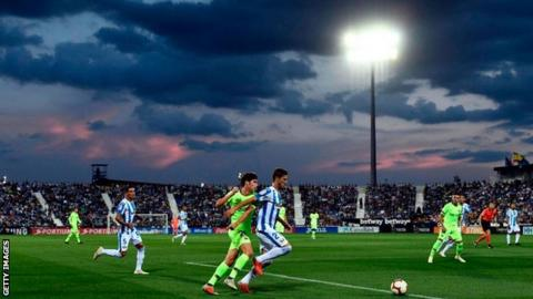 Leganes won their first league game of the season