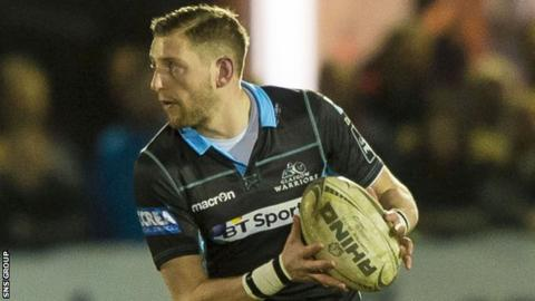 Glasgow stand-off Finn Russell
