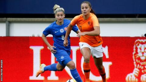 Lieke Martens of the Netherlands