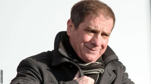 St Mirren chief executive Tony Fitzpatrick