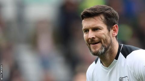 David Nugent helped Derby County to last season's Championship play-off final at Wembley