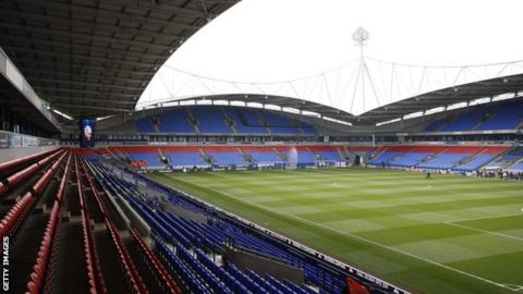 Bolton Wanderers are 22nd in the Championship, three points adrift of safety