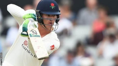 England opener Keaton Jennings made his third century in four Lancashire matches
