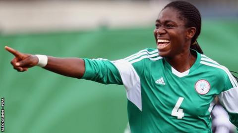 Asisat Oshoala has scored six goals in four games