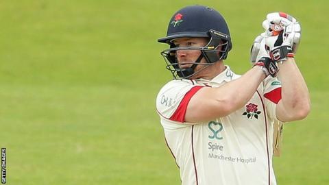 Lancashire captain Steven Croft