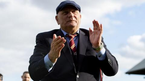 Dick Campbell's Arbroath are up to sixth after first win in four games