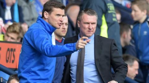 Lee McCulloch has talked to former Kilmarnock boss Lee Clark about the Rugby Park vacancy