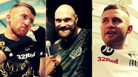 Paddy Barnes, Tyson Fury and Carl Frampton will all feature in BBC Radio 5 live's commentary