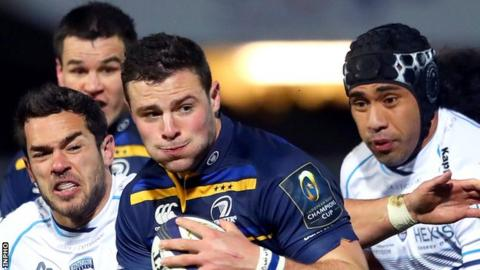 Leinster are the first team to qualify for the quarter-finals of the 2016-17 European Champions Cup