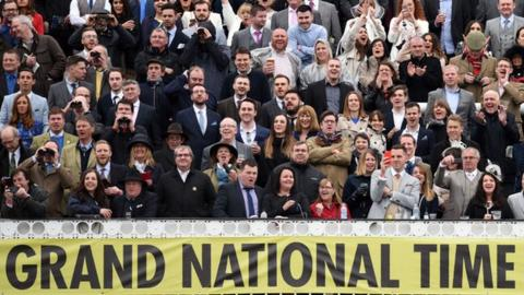 The Grand National crowd