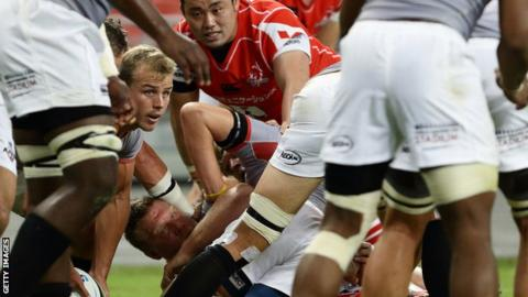 Pro12: Kings' Rudi van Rooyen ready to pass