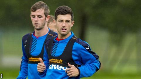 Rangers midfielder David Templeton