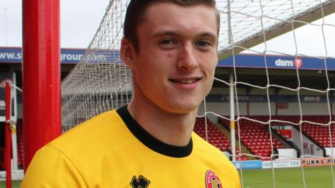 Liam Roberts has become Walsall's preferred first-choice goalkeeper since the turn of the year