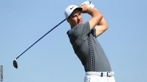 DJ shoots 64 to surge up leaderboard in Abu Dhabi