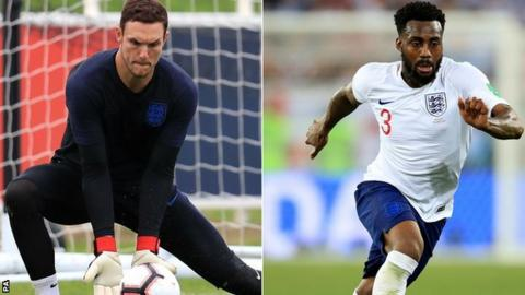 Gareth Southgate says England playing four-man defence a positive