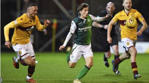 Ryan Gauld made six appearances during an injury-hit loan spell at Hibs last term