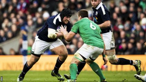 Zander Fagerson's power wasn't confined to the Scotland scrum against Ireland at Murrayfield on Saturday