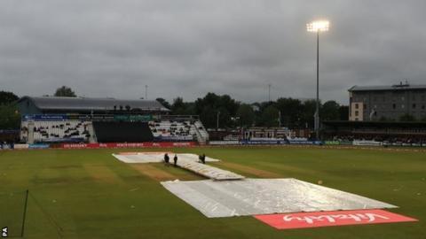 Rain in Derby