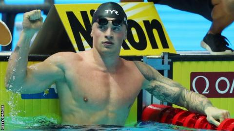 Peaty added to his 100m breaststroke triumph with his 50m triumph on Sunday