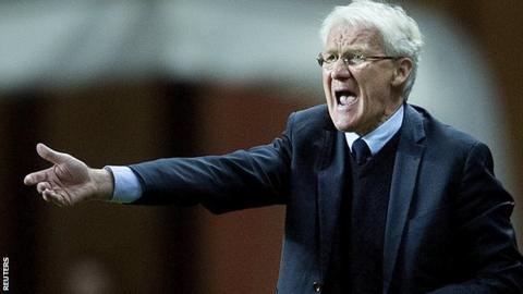 Morten Olsen is stepping down as Denmark manager
