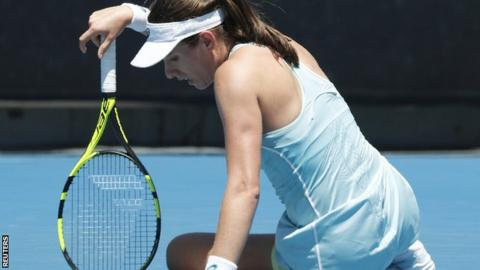 Konta knocked out by world number 123 Pera