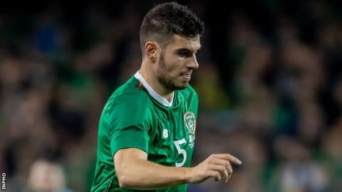 John Egan has earned four Republic of Ireland caps