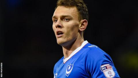 Portsmouth striker Kal Naismith